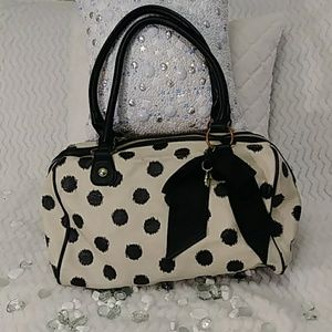 NWOT Betsey Johnson large satchel bag